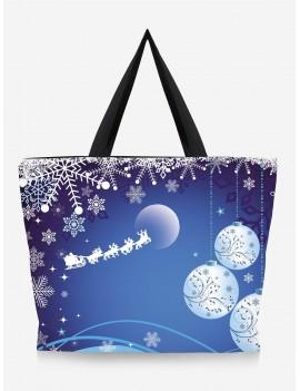 Going Out Tree Print Christmas Handbag
