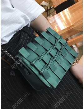 Christmas Twist Accent Cover Chain Square Bag