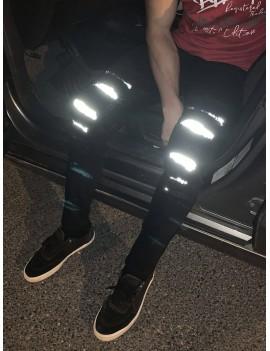 Casual Zip Fly Luminous Skinny Jeans - Xl
